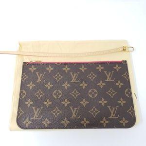 Brand New Louis Vuitton Brown Clutch/ Pouch Bag